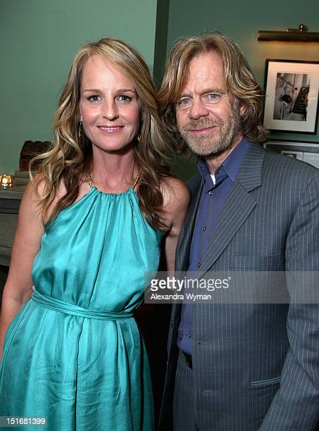 Actors Helen Hunt and William H Macy attend the Grey Goose Vodka Party for 'The Sessions' at Soho House Toronto on September 9 2012 in Toronto Canada