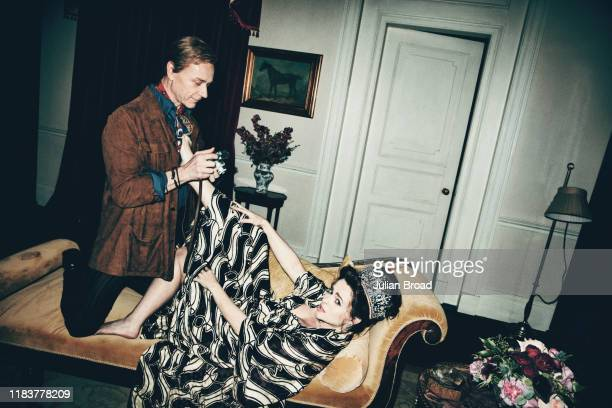 Actors Helena Bonham Carter and Ben Daniels who play Princess Margaret and Lord Snowdon respectively in the Netflix series The Crown, are...