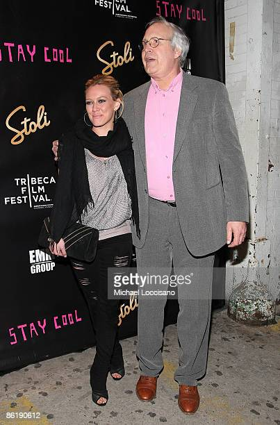 Actors Hilary Duff and Chevy Chase attend the after party for Stay Cool during the 2009 Tribeca Film Festival at tenjune on April 23 2009 in New York...