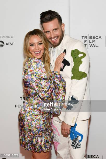 Actors Hilary Duff and Nico Tortorella attends Tribeca TV: Younger at Spring Studio on April 25, 2019 in New York City.