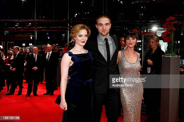 Actors Holliday Grainger Robert Pattinson and Christina Ricci attend the Bel Ami Premiere during day nine of the 62nd Berlin International Film...