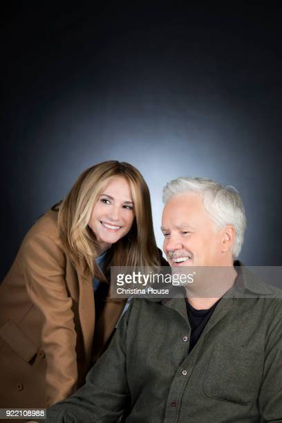 Actors Holly Hunter and Tim Robbins are photographed for Los Angeles Times on February 5 2018 in Beverly Hills California PUBLISHED IMAGE CREDIT MUST...