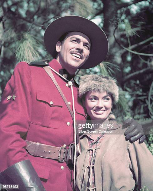 Actors Howard Keel and Ann Blyth star in 'Rose Marie' 1954