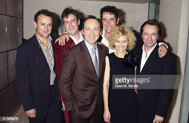 Actors Hugh Bonneville Stephen Tomkinson Adrian Lukis Neil Pearson Kevin Spacey and Ingeborga Dapkunaite arrive at the UK Premiere and Press night of...