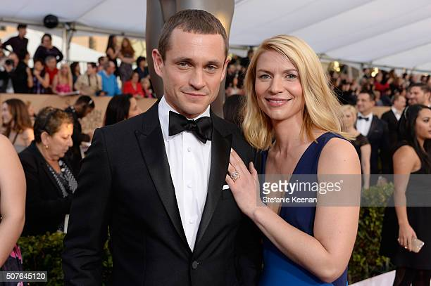 Actors Hugh Dancy and Claire Danes attend The 22nd Annual Screen Actors Guild Awards at The Shrine Auditorium on January 30 2016 in Los Angeles...