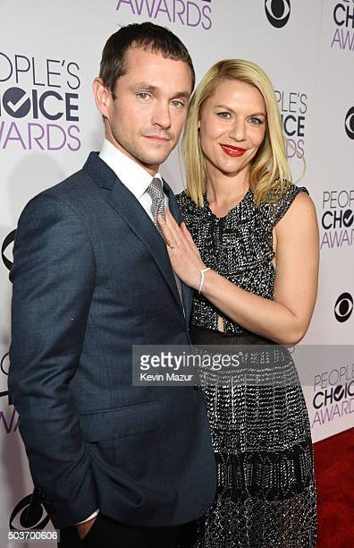 Actors Hugh Dancy and Claire Danes attend the People's Choice Awards 2016 at Microsoft Theater on January 6 2016 in Los Angeles California