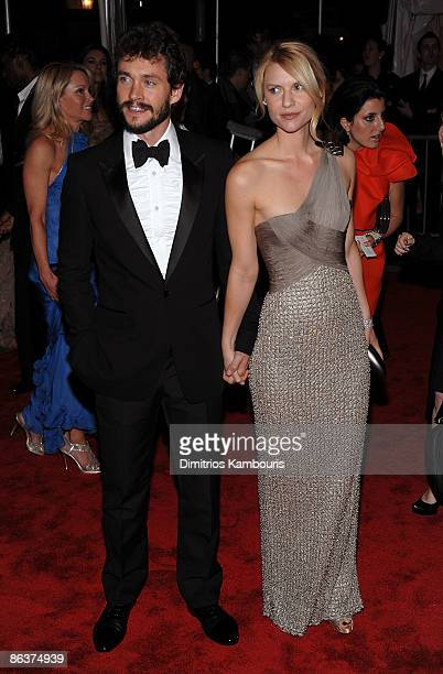 """Actors Hugh Dancy and Claire Danes attends """"The Model as Muse: Embodying Fashion"""" Costume Institute Gala at The Metropolitan Museum of Art on May 4,..."""