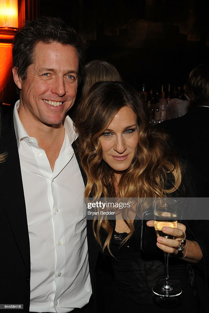 Actors Hugh Grant and Sarah Jessica Parker attends the premiere of 'Did You Hear About the Morgans?' after party at The Oak Room on December 14, 2009 in New York City.
