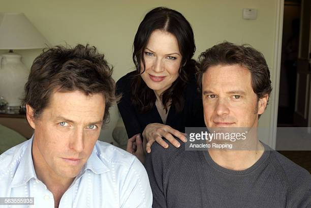 Actors Hugh Grant, Renee Zellweger and Colin Firth are photographed for Los Angeles Times on October 14, 2004 in Beverly Hills, California. CREDIT...
