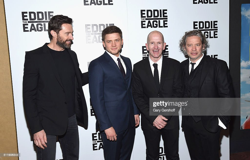 'Eddie The Eagle' New York Screening : News Photo