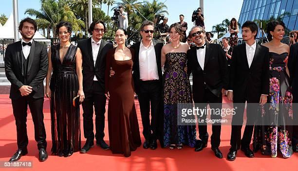 Actors Humberto Carrao Maeve Jinkings guest Sonia Braga director Kleber Mendonca Filho producer Emilie Lesclaux Lula Terra Pedro Queiroz Barbara...