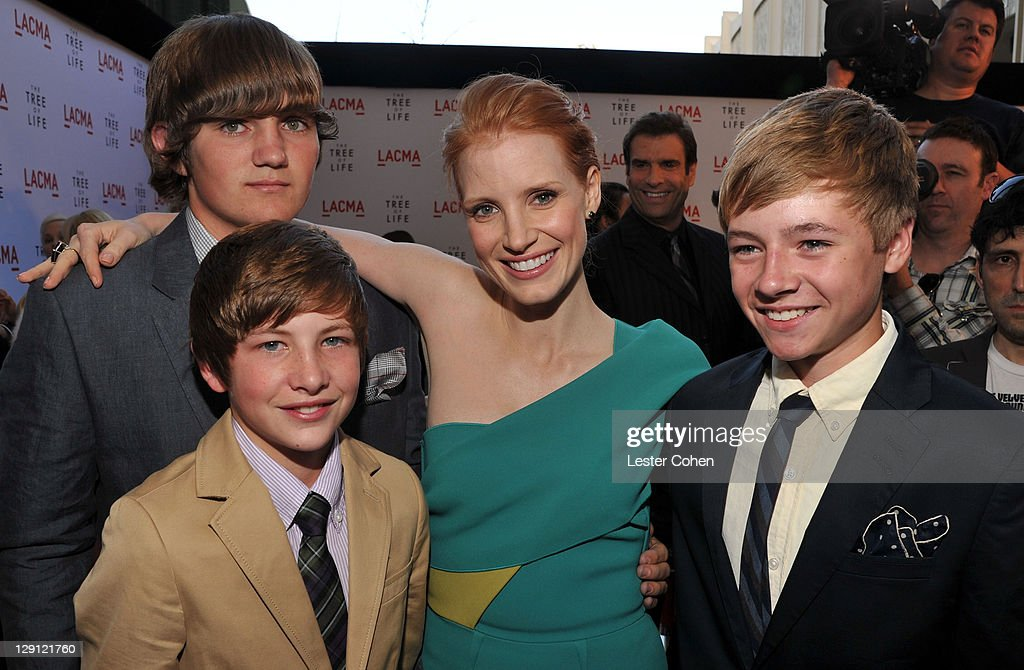 The Tree Of Life Los Angeles Premiere - Red Carpet : News Photo