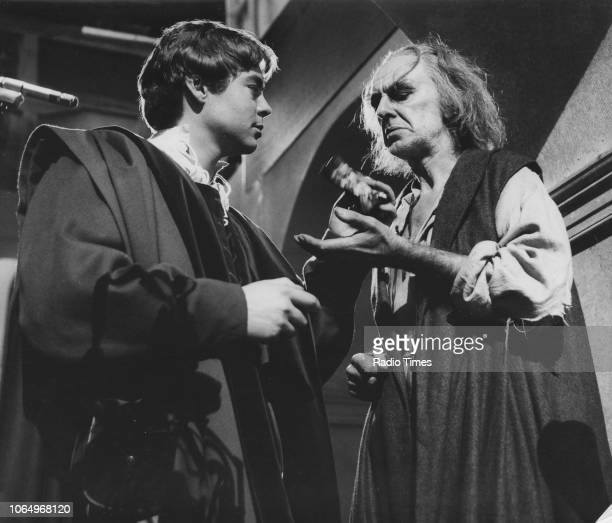 Actors Hywel Bennett and Julius Alba in a scene from the BBC Play of the Month 'Romeo and Juliet', March 9th 1967.