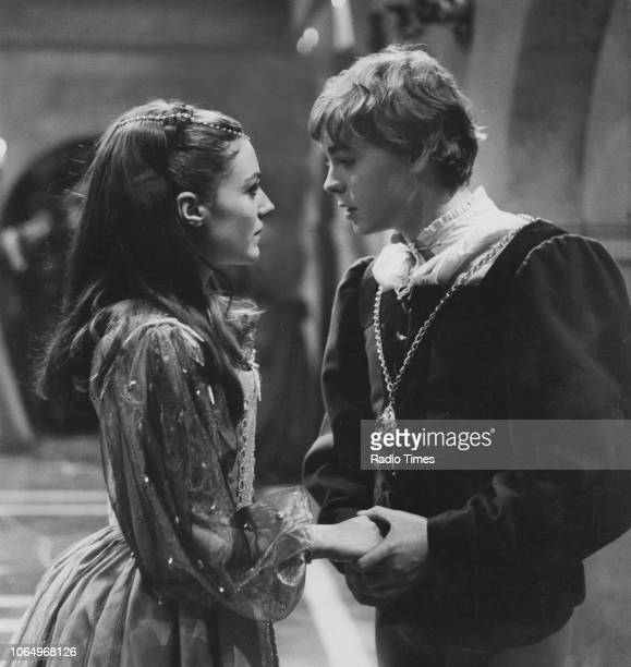 Actors Hywel Bennett and Kika Markham in a scene from the BBC Play of the Month 'Romeo and Juliet', March 9th 1967. First printed in Radio Times...