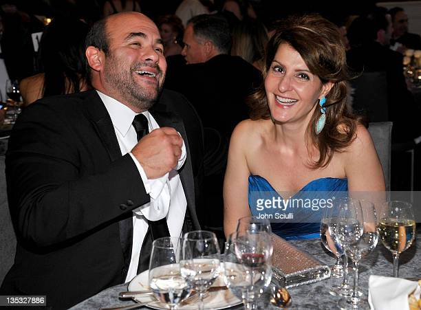 Actors Ian Gomez and Nia Vardalos attend the 2011 UNICEF Ball presented by Baccarat held at the Beverly Wilshire Hotel on December 8 2011 in Los...