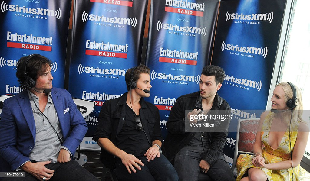 SiriusXM's Entertainment Weekly Radio Channel Broadcasts From Comic-Con 2015 : News Photo