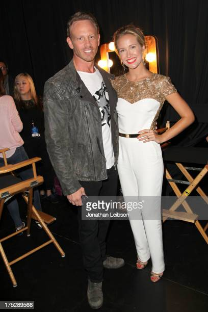 Actors Ian Ziering and Anna Camp attend CW Network's 2013 Young Hollywood Awards presented by Crest 3D White and SodaStream held at The Broad Stage...