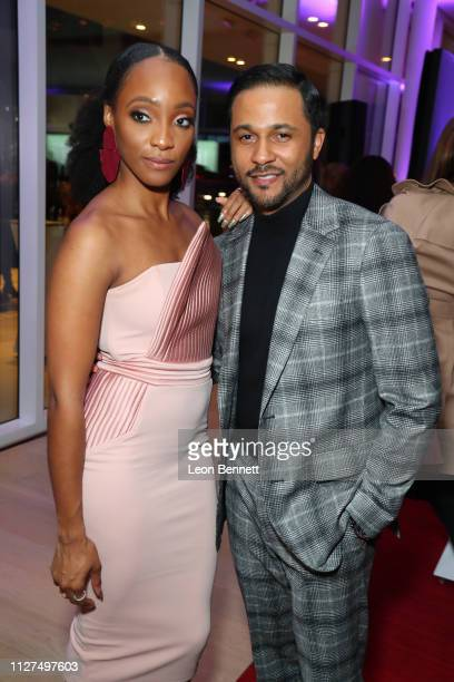 Actors Iantha Richardson and Jason Dirden attend BET's American Soul Los Angeles Premiere on February 04 2019 in North Hollywood California