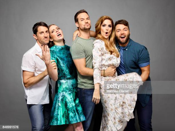 Actors Iddo Goldberg, Elise Eberle, Shane West, Janet Montgomery, Shane West and Seth Gabel from 'Salem' are photographed for Entertainment Weekly...