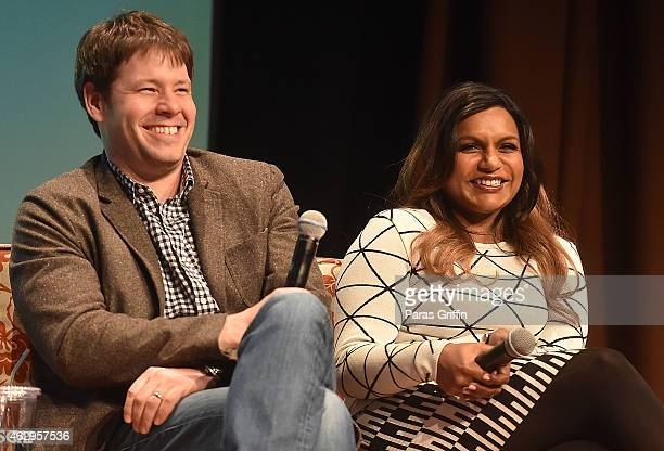 Actors Ike Barinholtz and Mindy Kaling speak on a panel following the Primetime Series Screening FOX presents The Mindy Project during aTVfest...