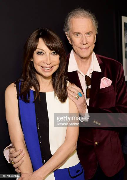 Actors Illeana Douglas and Andrew Prine attend the screening of 'The Miracle Worker' during day three of the 2015 TCM Classic Film Festival on March...