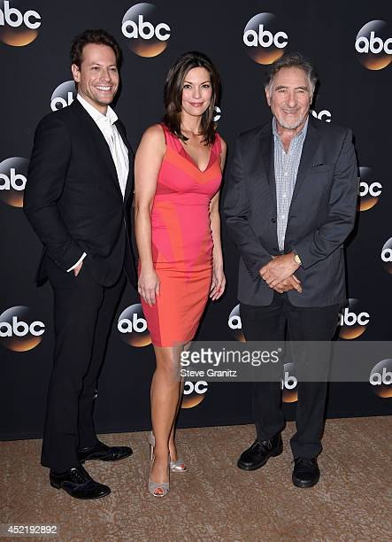Actors Ioan Gruffudd Alana de la Garza and Judd Hirsch attend the Disney/ABC Television Group 2014 Television Critics Association Summer Press Tour...