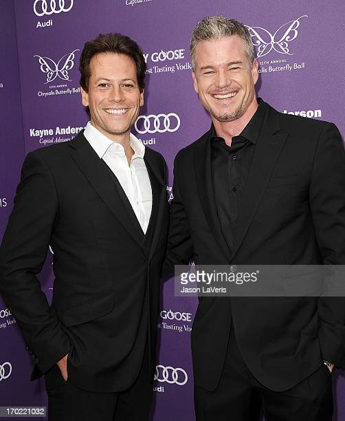Actors Ioan Gruffudd and Eric Dane attend the 12th annual Chrysalis Butterfly Ball on June 8 2013 in Los Angeles California