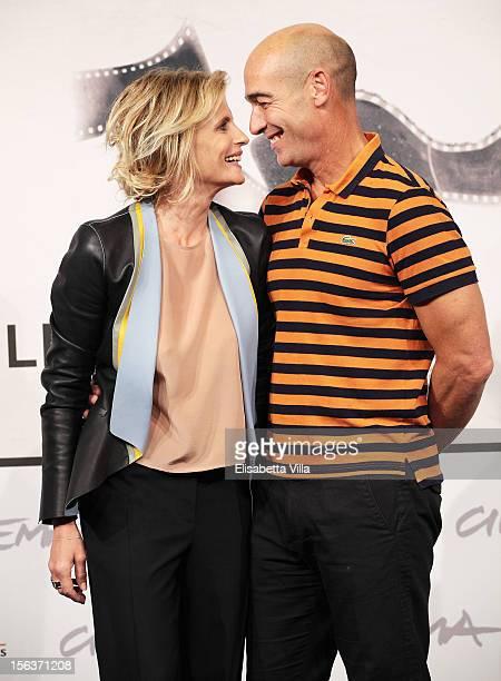 Actors Isabella Ferrari and JeanMarc Barr attend the 'E La Chiamano Estate' Photocall during the 7th Rome Film Festival at the Auditorium Parco Della...