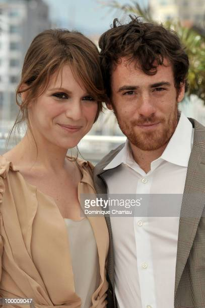 Actors Isabella Ragonese and Elio Germano attend the 'Our Life' Photo Call held at the Palais des Festivals during the 63rd Annual International...