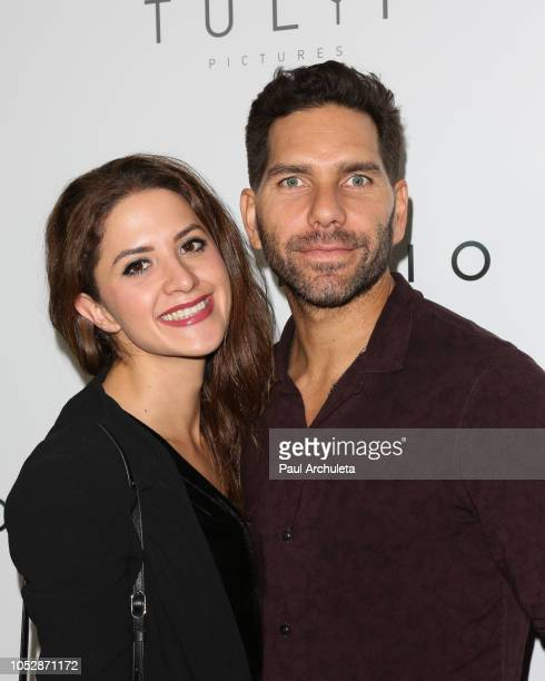 Actors Ivana De Maria and Arap Bethke attend the 'Silencio' premiere at Arclight Cinemas Culver City on October 23 2018 in Culver City California