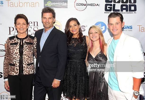 Actors Ivonne Coll, D.W. Moffett, Constance Marie, Ashley Fiolek, and Ryan Lane attend the 10th Annual GLAD Benefit in support of equal access for...