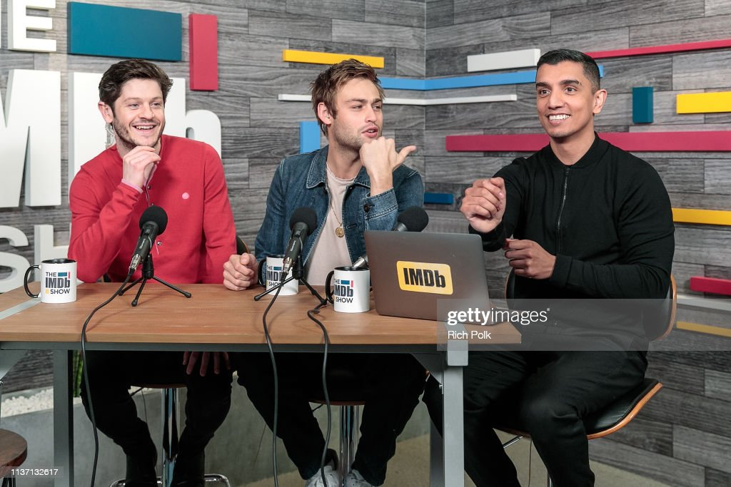 CA: Iwan Rheon And Douglas Booth Visit The IMDb Show LIVE
