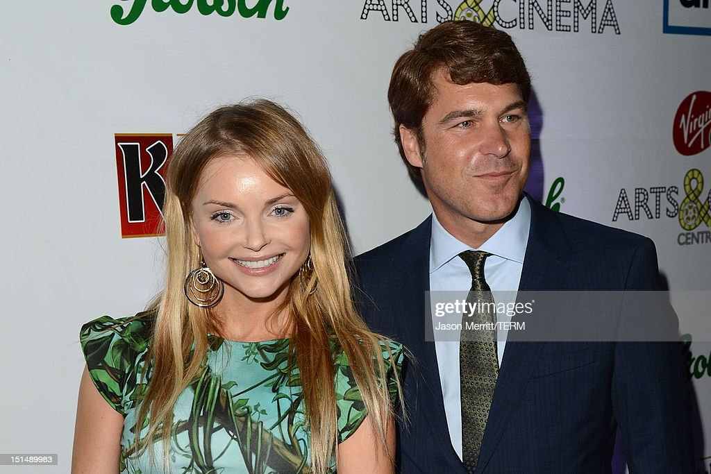 Actors Izabella Miko (L) and Producer Todd Labarowski attend the 'What Maisie Knew' post premiere reception at the Virgin Mobile Arts & Cinema Centre on September 7, 2012 in Toronto, Canada.