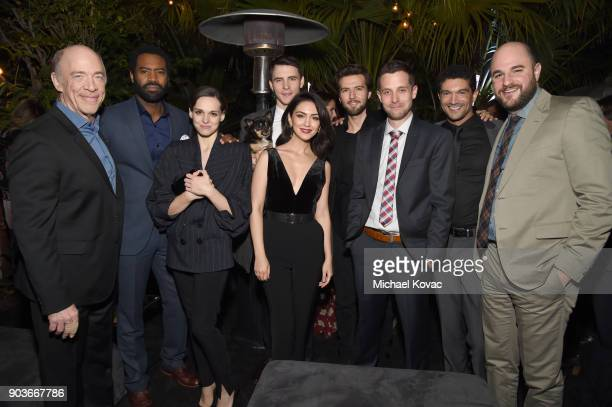 Actors J K Simmons Nicholas Pinnock Sara Serraiocco Nazanin Boniadi Harry Lloyd Guy Burnet showrunner Justin Marks Mido Hamada and executive producer...