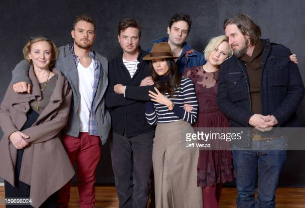 Actors J SmithCameron Clayne Crawford Aden Young Abigail Spencer Luke Kirby Adelaide Clemens and creator Raymond McKinnon pose for a portrait during...