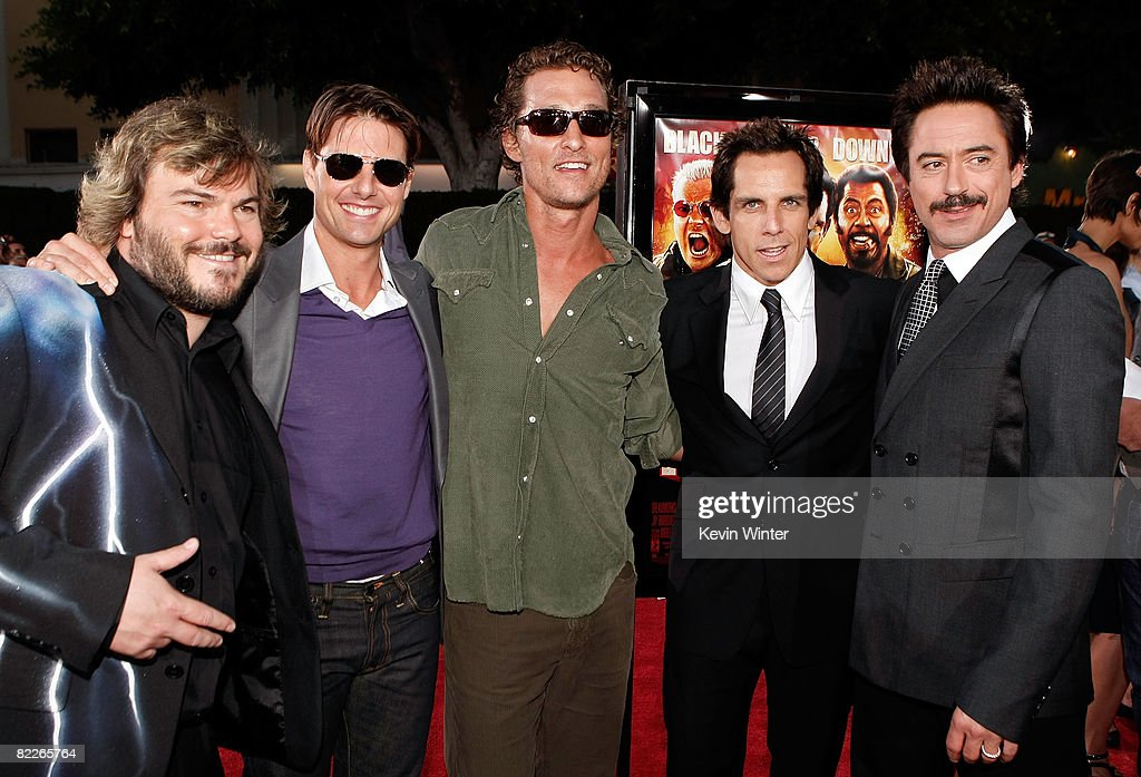 """Premiere Of Dreamworks Pictures' """"Tropic Thunder"""" - Arrivals : News Photo"""