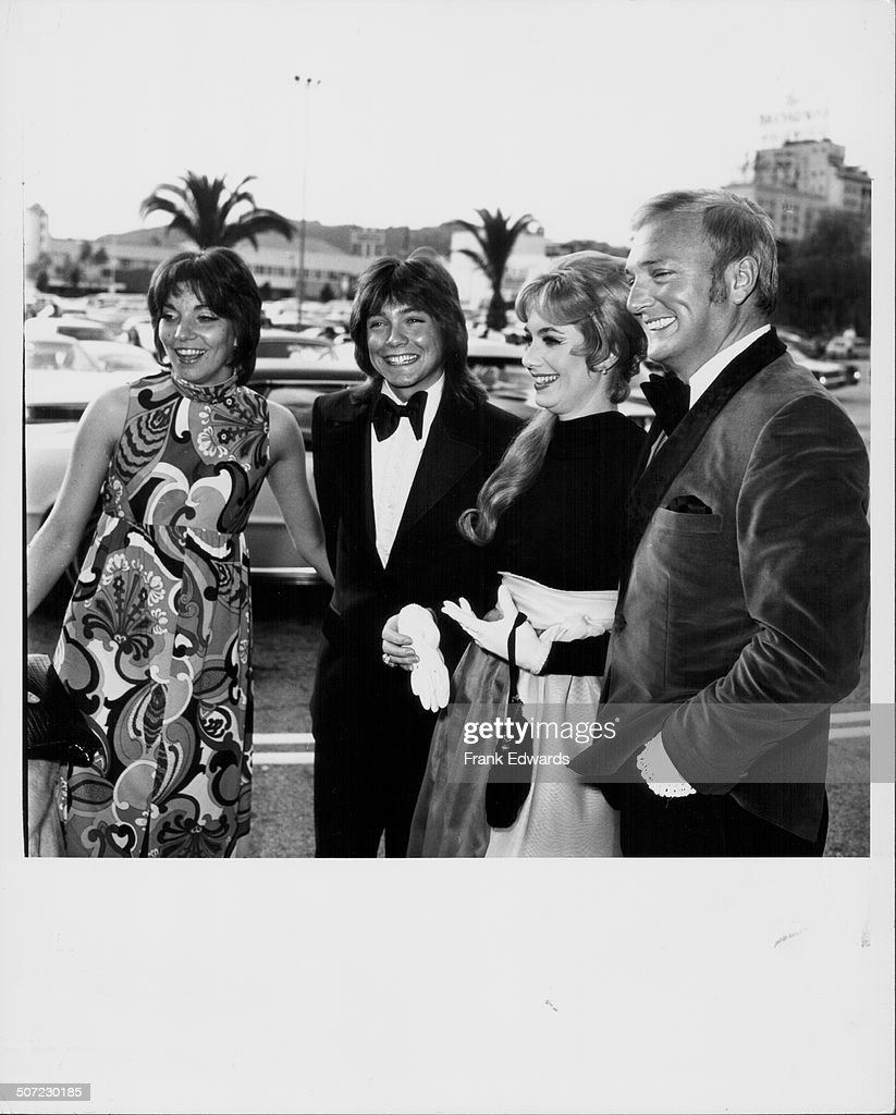 David Cassidy And His Family : News Photo