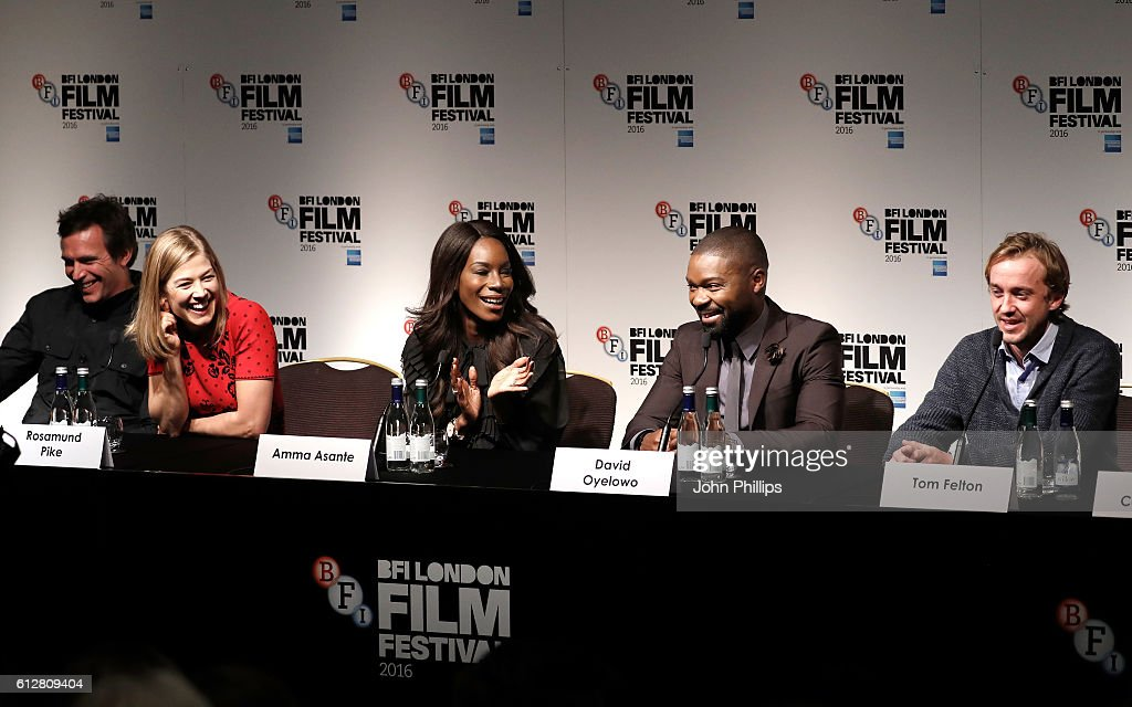 'A United Kingdom' - Press Conference - 60th BFI London Film Festival