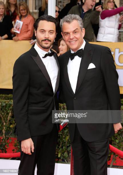 Actors Jack Huston and Danny Huston arrive at the19th Annual Screen Actors Guild Awards held at The Shrine Auditorium on January 27 2013 in Los...