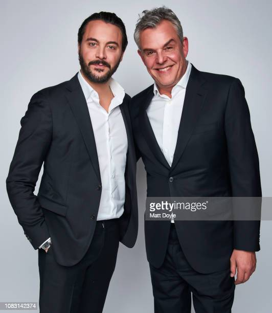 Actors Jack Huston and Danny Huston pose for a portrait at The National Board of Review Annual Awards Gala on January 8 2019 at Cipriani 42nd Street...