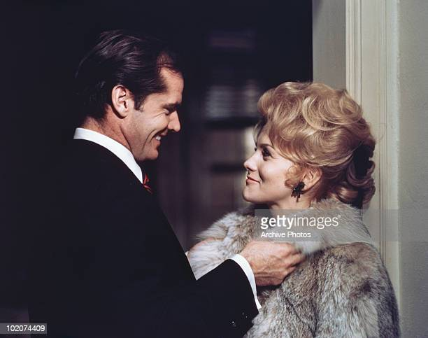 Actors Jack Nicholson and Ann Margret star in the film 'Carnal Knowledge' 1971