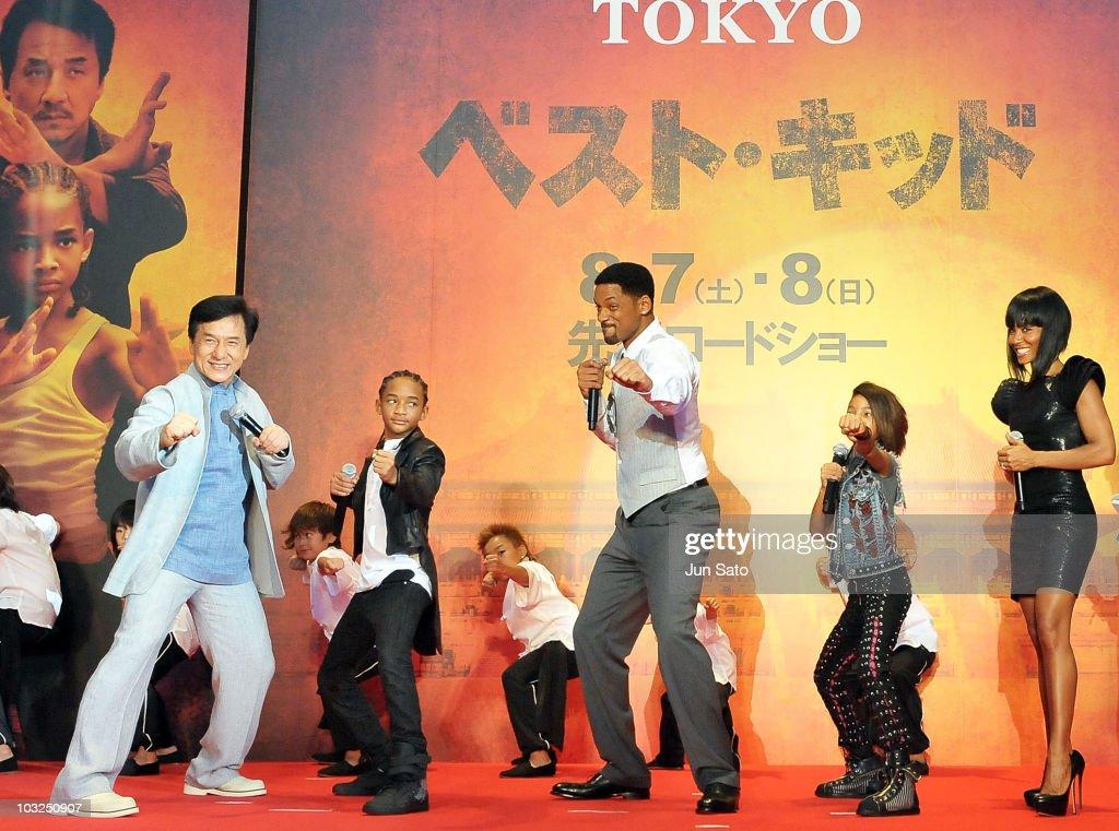 """The Karate Kid"" Movie Premier In Tokyo : News Photo"