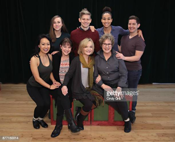 Actors Jackie Nguyen Kim Crosby Cathy Rigby Pamela Myers Samantha Hill Andrew KeenanBolger Gabrielle McClinton and Matt Densky participate in Kris...