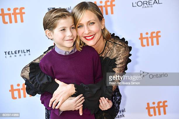 Actors Jacob Tremblay and Actress Vera Farmiga attend the 'Burn Your Maps' premiere during the 2016 Toronto International Film Festival at Ryerson...
