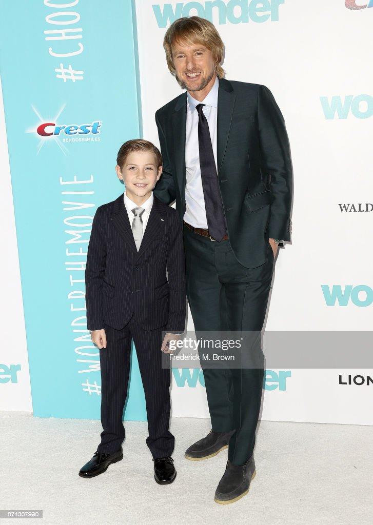 """Premiere Of Lionsgate's """"Wonder"""" - Arrivals : Nieuwsfoto's"""