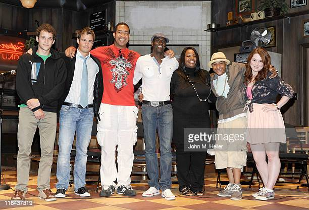 Actors Jacob Zachar Gregory Michael John Marshall Jones actor/producer Lanre Idewu philanthropist Cynthia Stafford actors Orlando Brown and Jennifer...