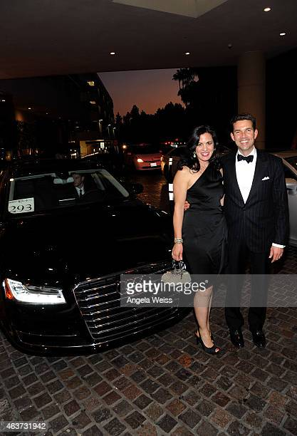 Actors Jacqueline Mazarella and Don Winston attend the 17th Costume Designers Guild Awards presented by Audi and Lacoste at The Beverly Hilton Hotel...