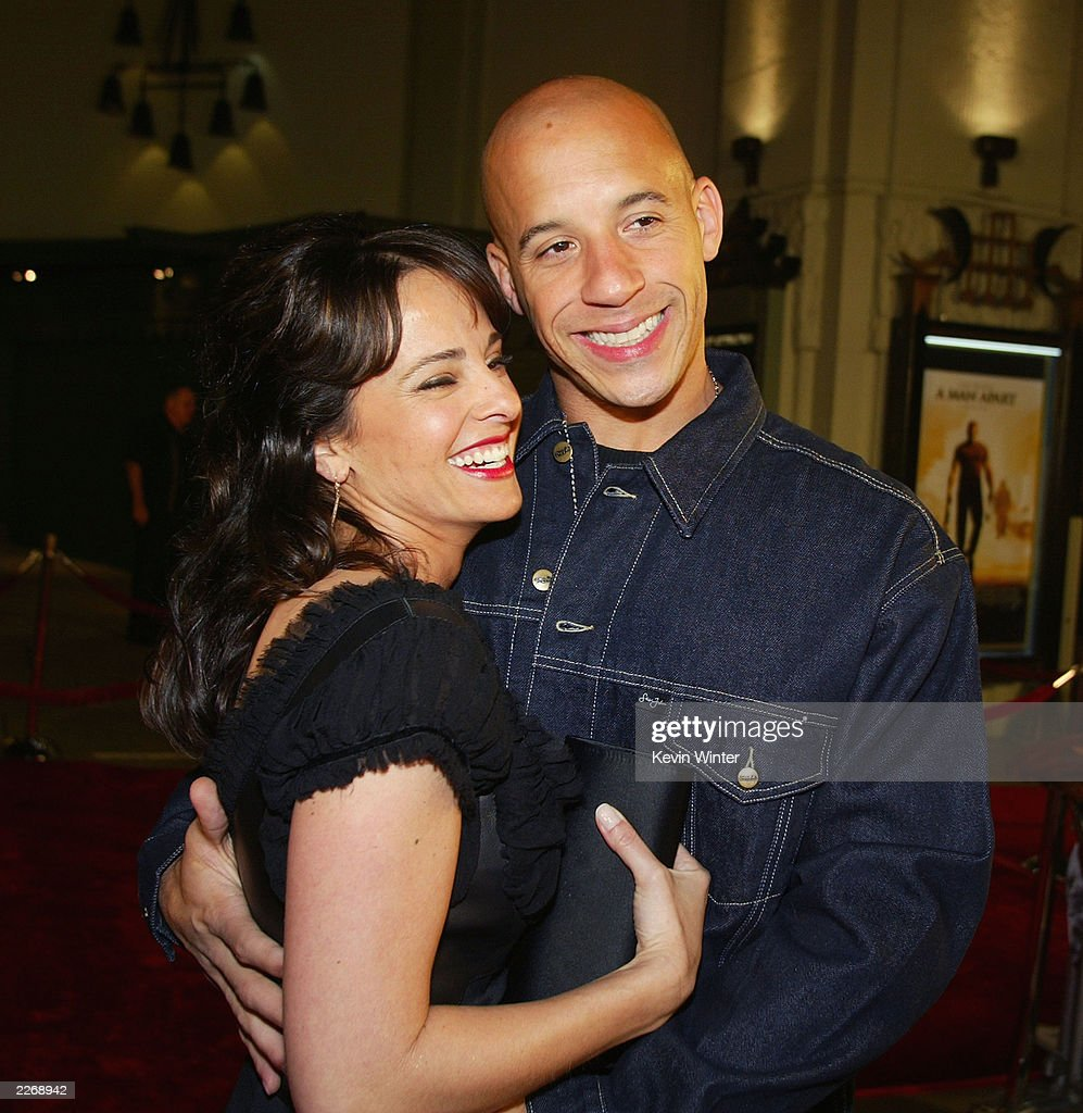 Actors Jacqueline Obradors And Vin Diesel Arrive At The