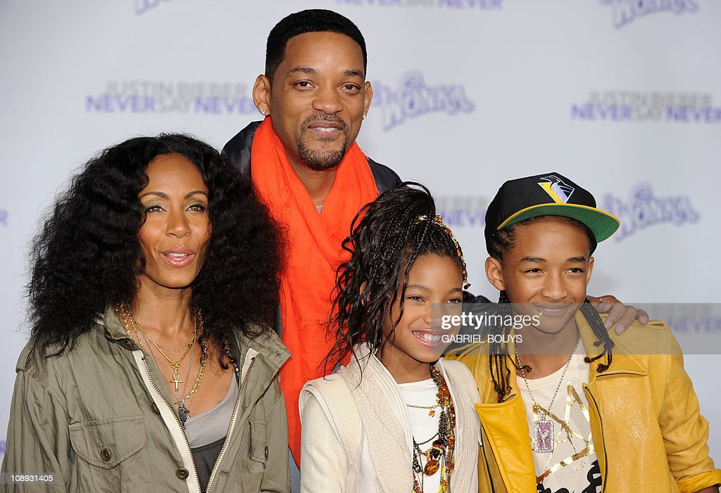 Actors Jada Pinkett Smith, Will Smith, s : News Photo