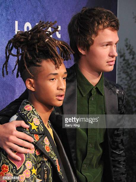 Actors Jaden Smith and Ansel Elgort attend Variety's Power of Young Hollywood event presented by Pixhug with Platinum Sponsor Vince Camuto at...